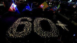 """Uma instalação luminosa sublinhou nas Filipinas a """"Hora do Planeta"""""""
