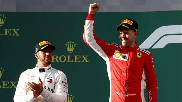 Sebastian Vettel gewinnt Saisonauftakt