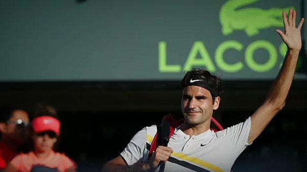 Federer kiesett Miamiban