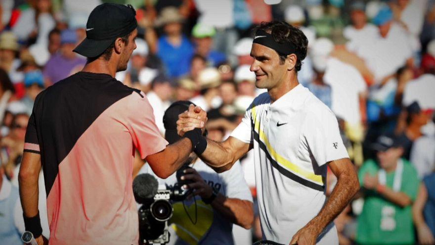 Federer subito fuori a Miami