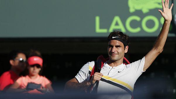 Coup dur pour la saison de Federer