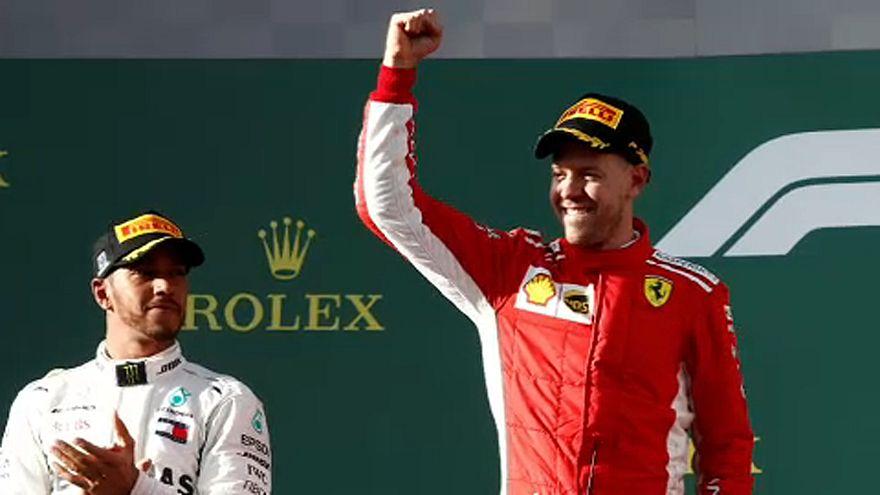 Vettel győzött Ausztráliában