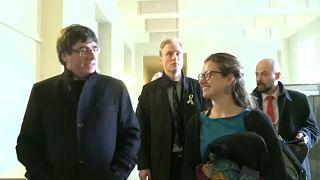 Őrizetbe vették a volt katalán elnököt Németországban