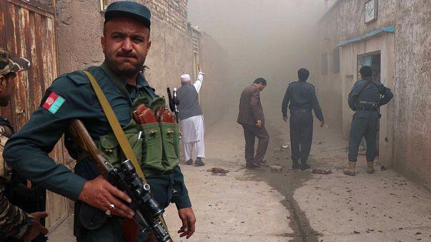 مسجد للشيعة في مدينة هرات بأفغانستان بعد هجوم انتحاري مزدوج