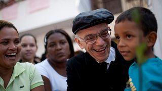 Хосе Абреу на бесплатном концерте в Каракасе