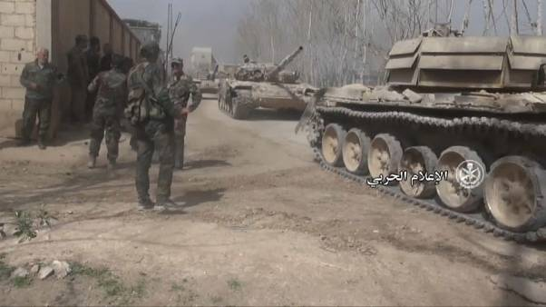 Rebellen verlassen Ost-Ghouta