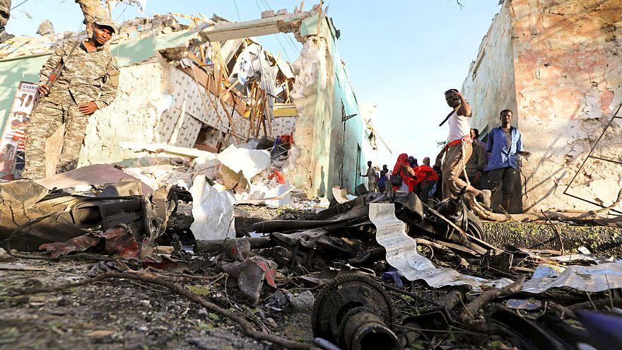 انفجار ضخم يهزّ العاصمة الصومالية مقديشو