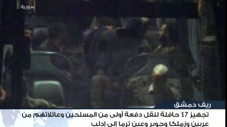 Ghouta orientale: prosegue evacuazione, esercito siriano controlla 90% della regione