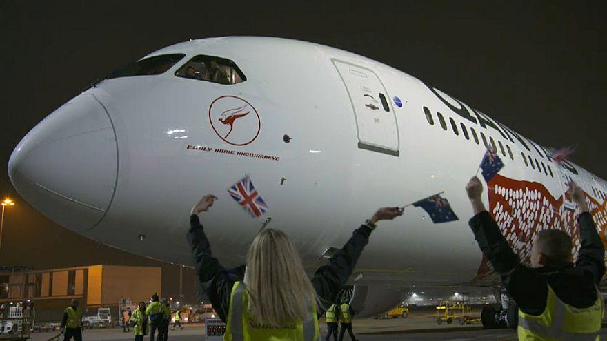 Austrália e Reino Unido ligados por voo direto de 17 horas