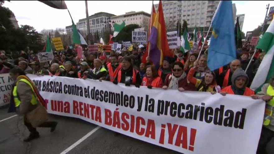 La 'Marea Básica' por la renta básica