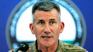 ژنرال جان میکلسون، فرمانده آمریکایی نیروهای تحت رهبری ناتو در افغانستان