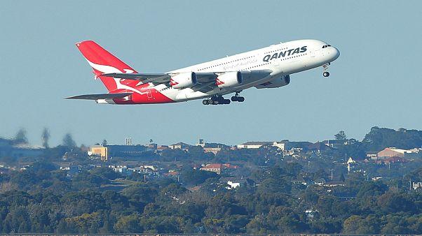 اولین پرواز مستقیم استرالیا به بریتانیا انجام شد