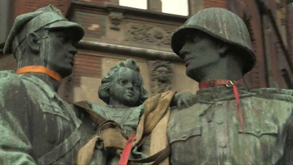 Rotarmisten-Denkmal in Legnica demontiert