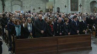 Messa in onore del poliziotto-eroe