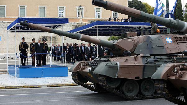Μεγάλη στρατιωτική παρέλαση για την 25η Μαρτίου - Μήνυμα Παυλόπουλου στην Άγκυρα