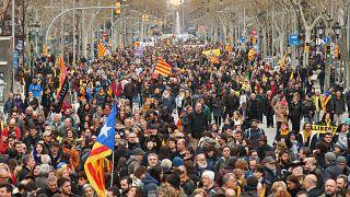 Barcelona: Proteste nach Puigdemont-Festnahme