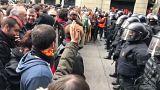 Arresto Puigdemont: scontri e feriti a Barcellona, tre arresti