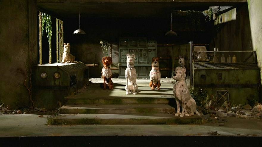 """Puppets from """"Isle of Dogs"""" go on display in London"""