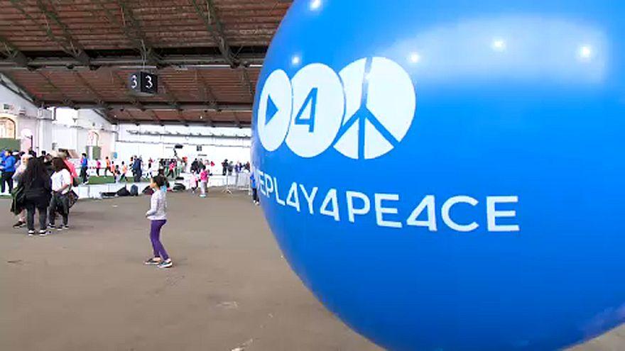 Sportnap a békéért