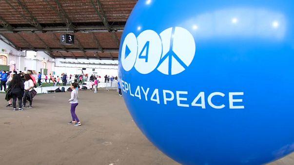 Uluslararası Kalkınma ve Barış için Spor günü Brüksel'de çoşkuyla kutlandı