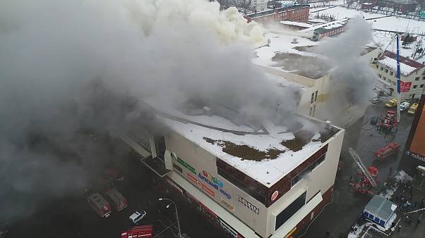 Reports: At least 37 dead and dozens missing, most of them children, in Siberia shopping mall fire