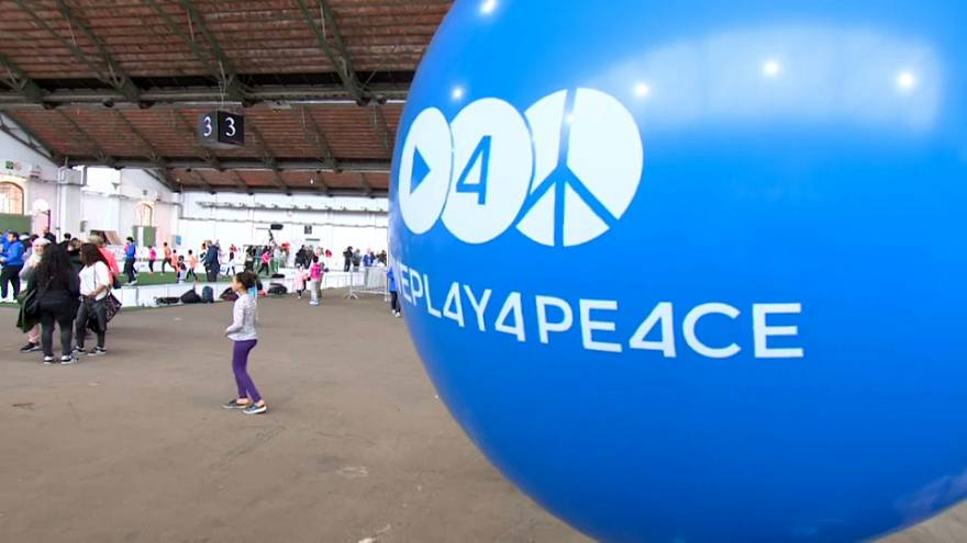 Belgian NGO promotes playing sport for peace