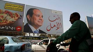 Abdel Fatah al-Sisi looks set to secure second term in Egypt's presidential elections