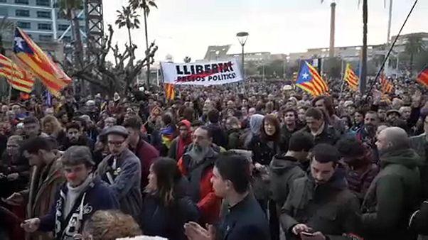 Tüntetés Puigdemont letartóztatása miatt