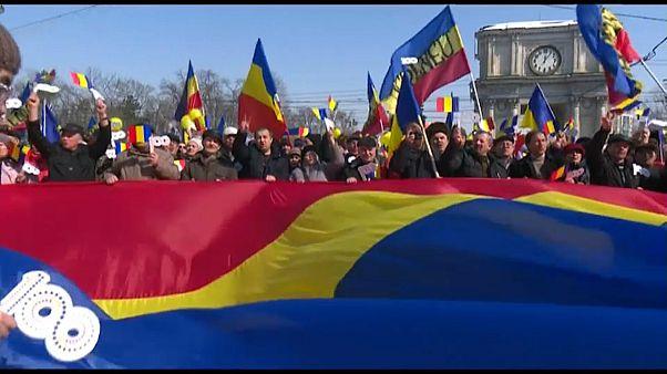 Митинг за объединение с Румынией