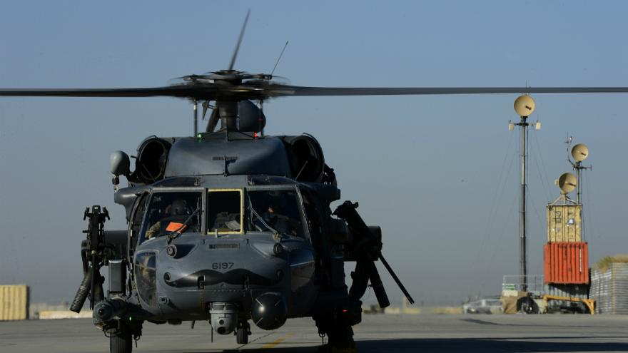 خلبانان افغان «شاهینهای سیاه» آمریکایی را به پرواز درمیآورند