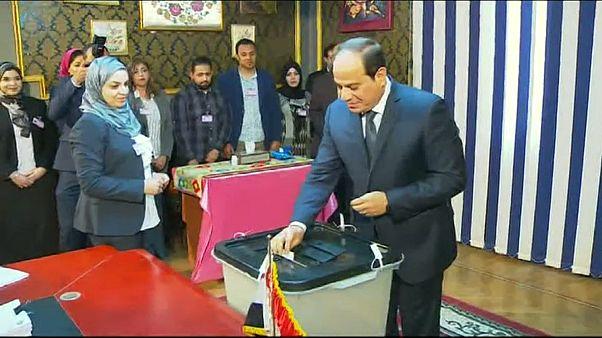Incumbent President Abdel Fattah al-Sisi