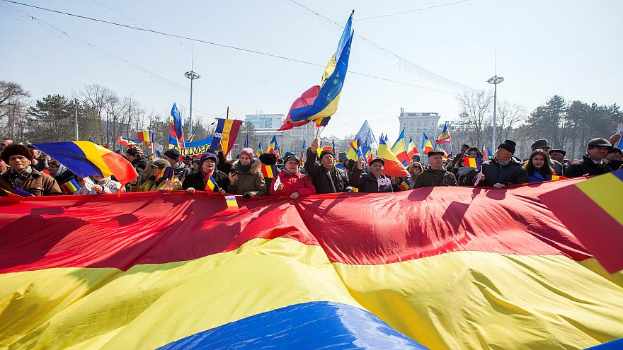 Manifestation pro-européenne en Moldavie