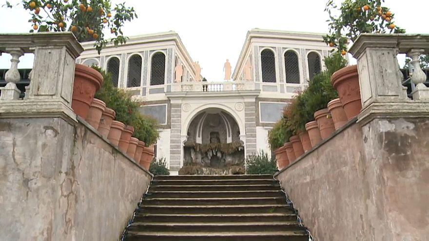 Réouverture des jardins Farnèse à Rome