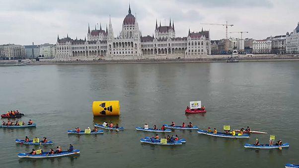 Kein Atommüllkonzept: Proteste gegen neues AKW in Ungarn