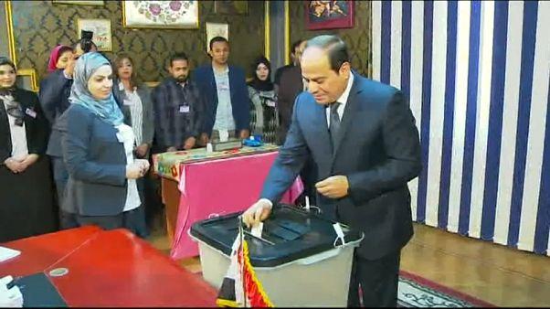 Egipto celebra elecciones presidenciales sin sopresas