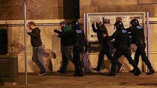 بارسلون؛ تظاهرات در اعتراض به بازداشت رهبر جداییطلب