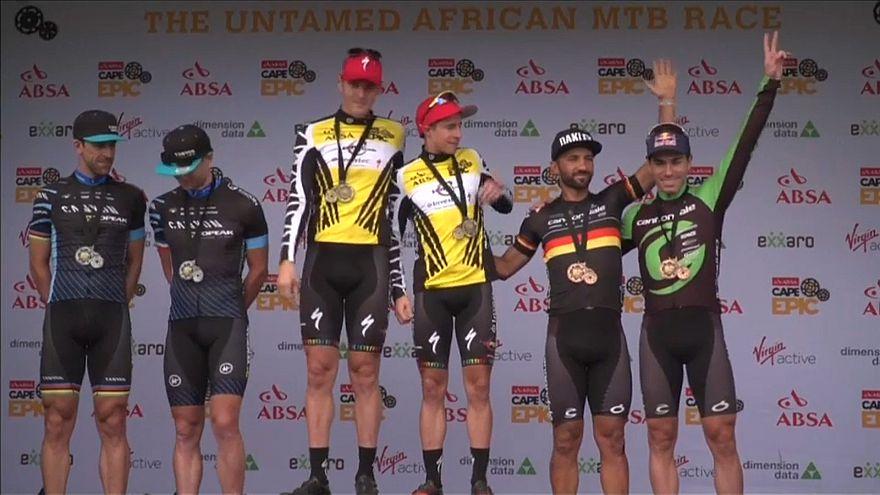 Ciclista português termina Cape Epic em quarto