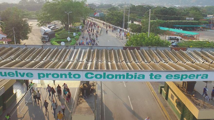Venezuela'da göçmen dramı