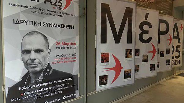 Új pártot alapított Janisz Varufakisz