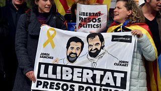 مظاهرة في بروكسل للإفراح عن بودجمون