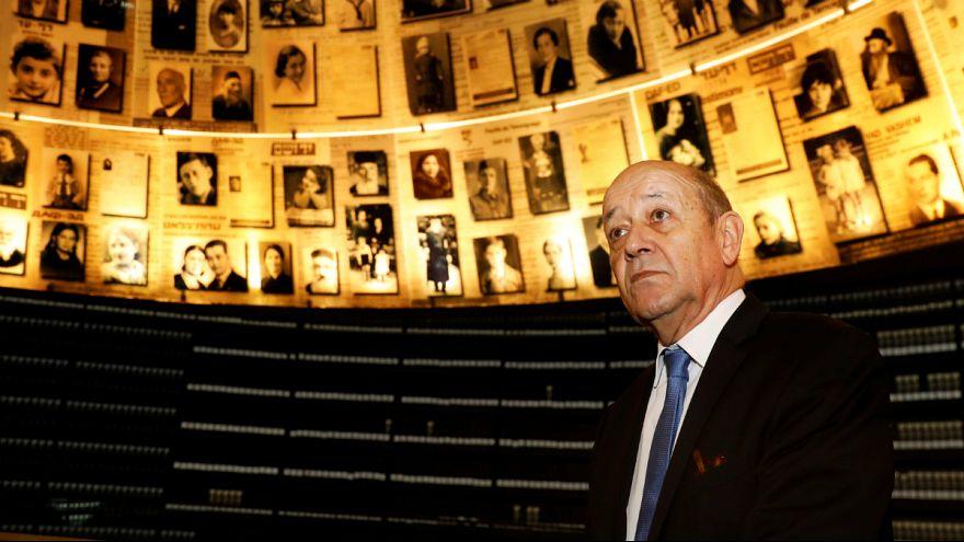 قتل یک زن یهودی در پاریس همزمان با دیدار وزیر خارجه فرانسه از اسرائیل