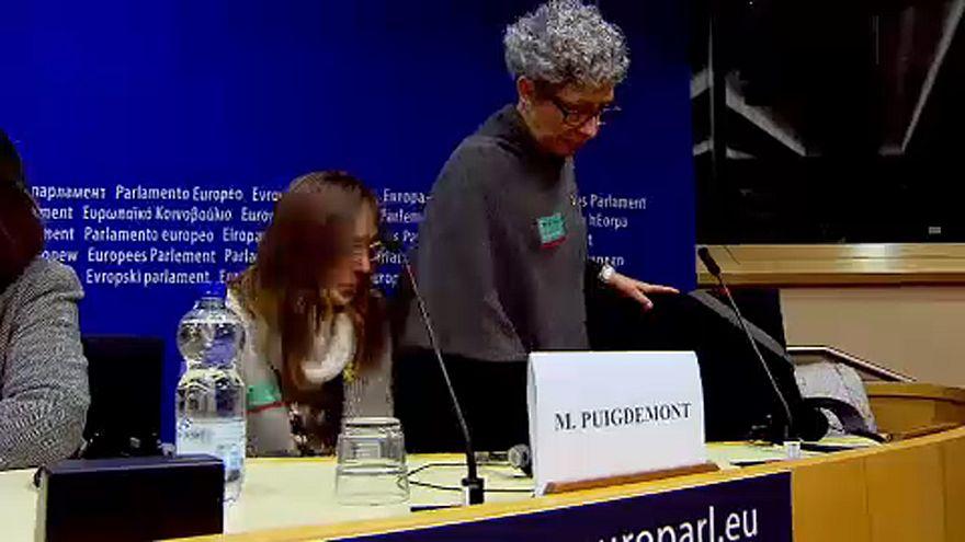 Puigdemont'nun yakınları AB'den destek istedi