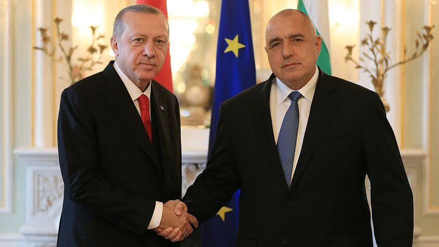 Le président turc et le Premier ministre bulgare