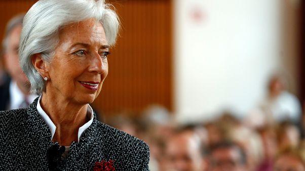 Christine Lagarde, no Instituto alemão para a Investigação Económica