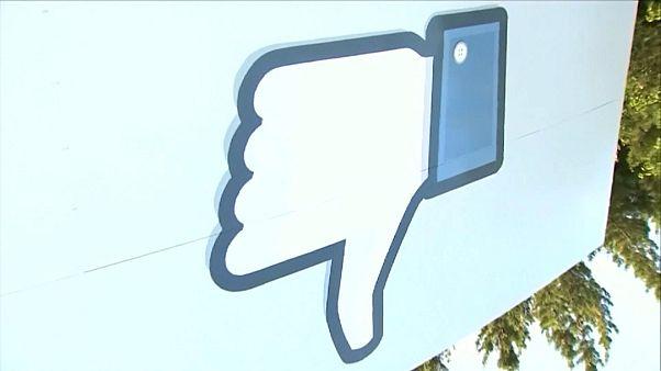 Nuovo tonfo di Facebook in borsa