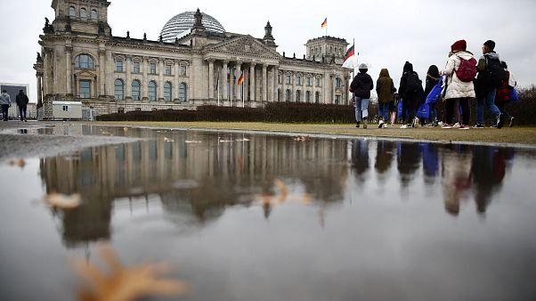 Das Reichtstagsgebäude in Berlin