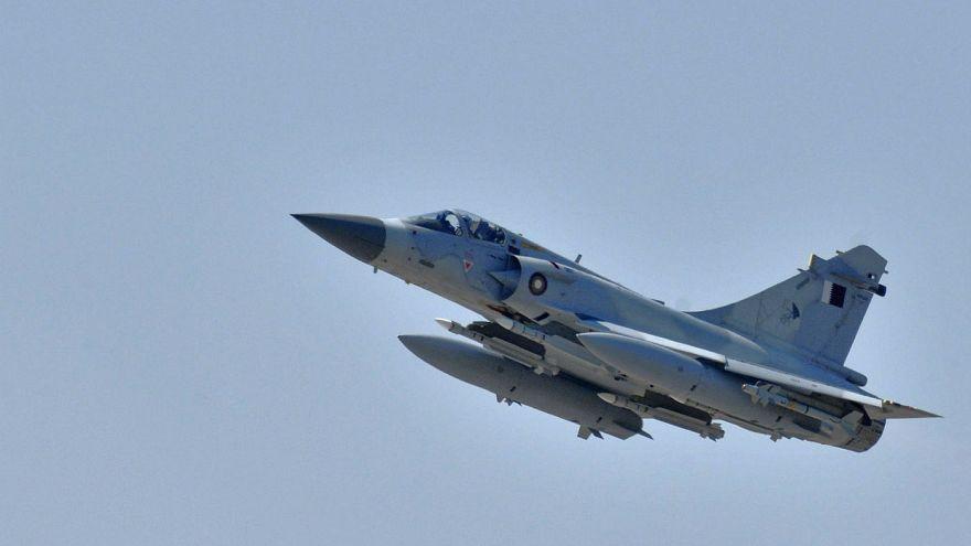 A Qatar Emiri Air Force Dassault Mirage 2000-5 fighter jet