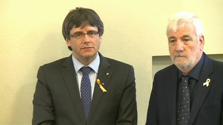 Суд в ФРГ: Пучдемон останется под стражей
