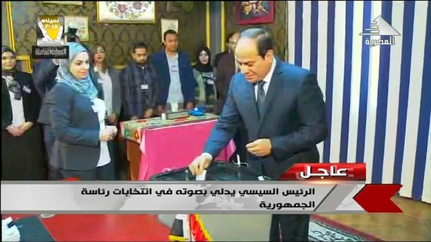 Egitto, al-Sisi verso una scontata rielezione