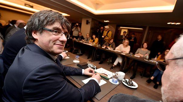 Le leader indépendantiste catalan Carles Puigdemont